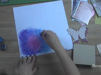 How to Use Color Me Sheets with Megan Elizabeth Blendable  Ink  Pads