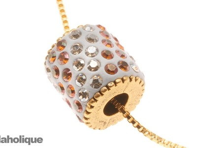 How to Use Nunn Design Bead Cores to Make a Crystal Pave Bead