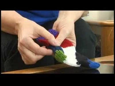 Knitting Socks : Knitted Sock: Construction