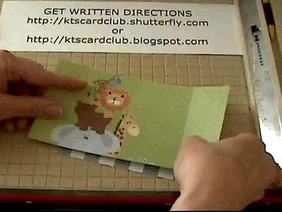 KT'S CARD & CRAFT CLUB: Awning Card