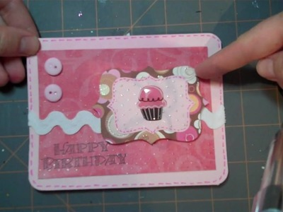 Let's Get Crafty: Episode # 22: Use Your a Scraps for Cards