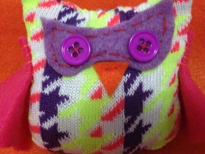 Make an Adorable Sock Owl - DIY Crafts - Guidecentral
