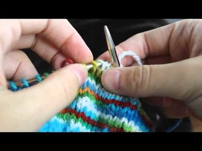 NEW Knitting Short Rows with No Holes (in the round)