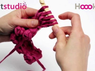 Noppen haken. Crochet Bobble Stitch. Noppen Häkeln