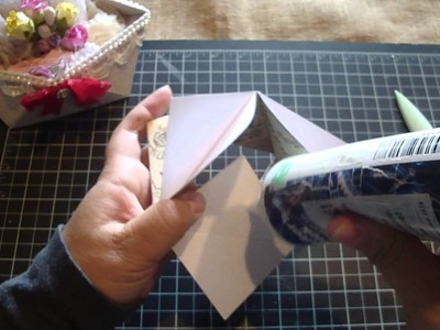 Origami Candy Dish.Tutorial