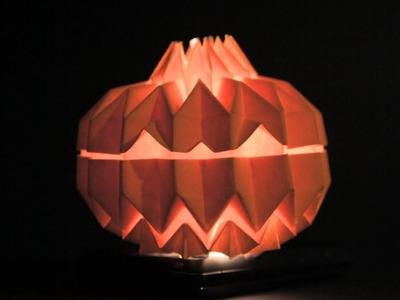 Origami Jack O' Lantern (Tomohiro Tachi)
