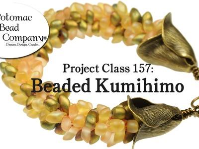 Project 157 - Beaded Kumihimo Braiding