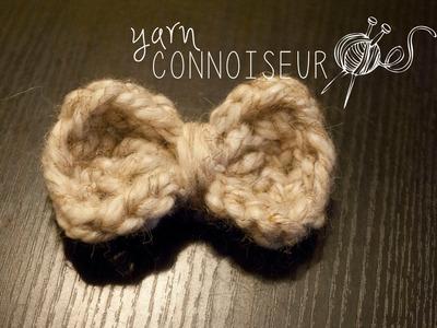 Quick & Easy Crochet Bow Tutorial