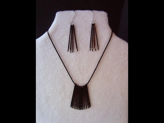 QUICK AND EASY HAIRPIN JEWELRY, how to diy, repurpose hair pins into jewelry
