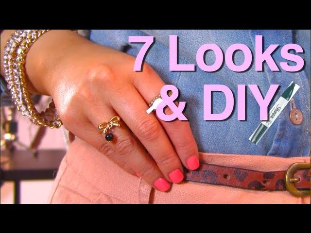 Style DIY: Week with LEOPARD BELT LookBoook