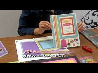 Using Free PDFs :: Hybrid Scrapbooking by Momenta