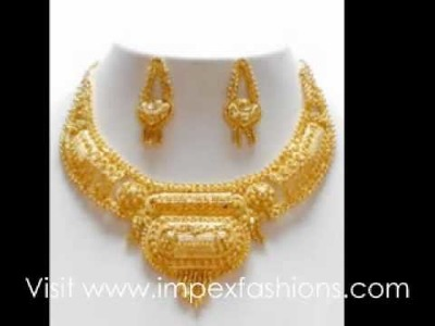Wholesale imitation gold plated jewellery at www.impexfashions.com
