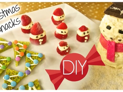 06. Easy DIY Christmas Snacks + GIVEAWAY!