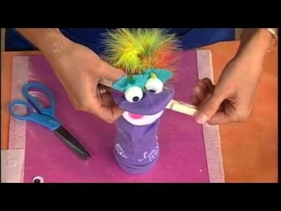 1501-1 Sock arm puppets on Hands On Crafts for Kids