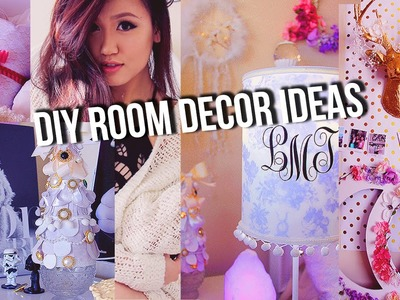 4 DIY Holiday Inspired Tumblr Room Decor.Gift Ideas