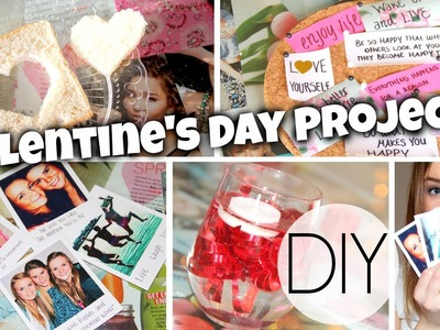 4 DIY Projects To Make On Valentine's Day! Food, Decor + More!