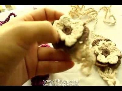 Baby Handmade Crochet Feet Barefoot Sandals Shoes 0-12Mts