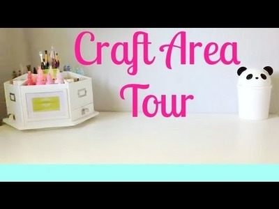 Craft area tour! (Polymer clay)