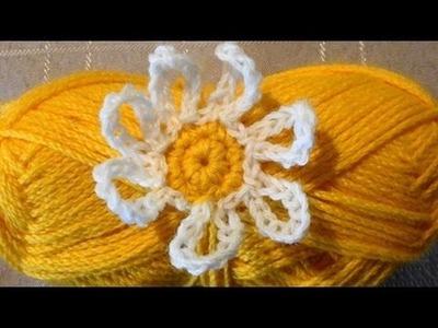 Crochet Daisy by Crochet Hooks You