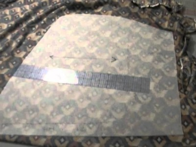 DIY Asymmetrical Skirt Sew Along, Part 2: Cutting Out Fabric