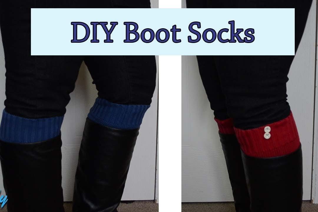 DIY - Boot Socks