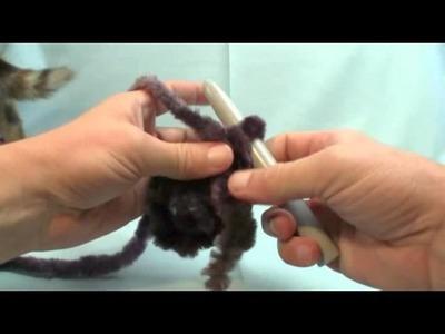 DIY Crochet Fab Faux Scarf - Gift 3