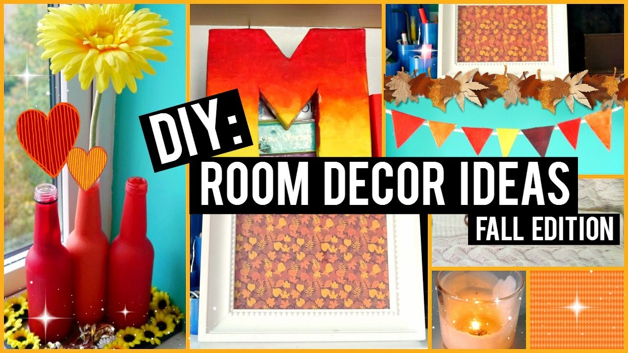 ♡ DIY Easy Room Decor Ideas ♡ Fall Edition