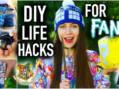 DIY Life Hacks for FANS you NEED to know!