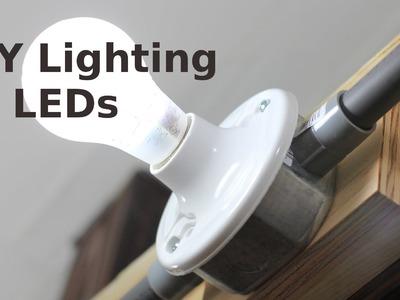 DIY Lighting for your Home w. LEDs