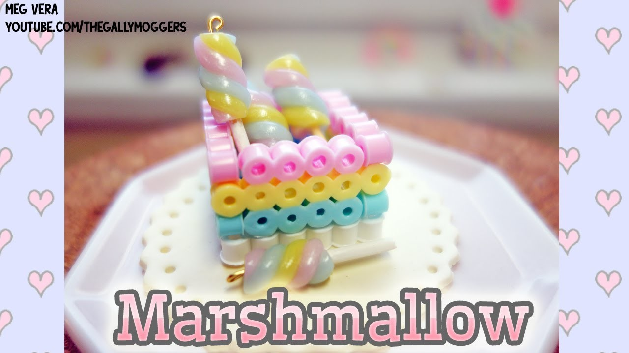 DIY Marshmallow Stick Polymer Clay Tutorial - How To