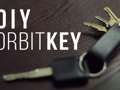 DIY OrbitKey - How to Make a Leather Keyholder