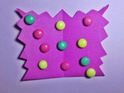 Diy : Origami Birthday Card [Easy]
