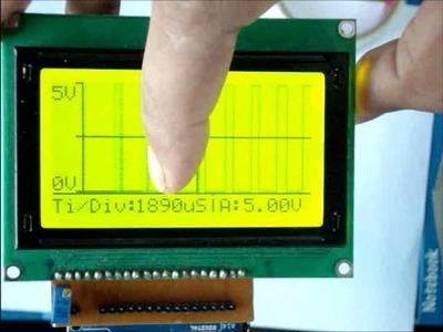 DIY Oscilloscope using Arduino and Graphic LCD (Osciduino)