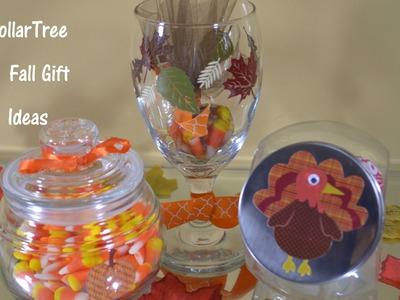 DollarTree Fall Gift Decor Ideas
