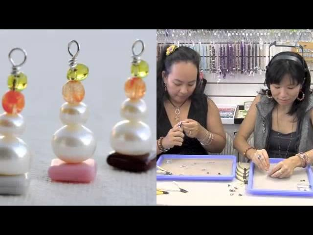Easy to Make SUPER CUTE Holiday Gifts at The Bead Gallery, Honolulu