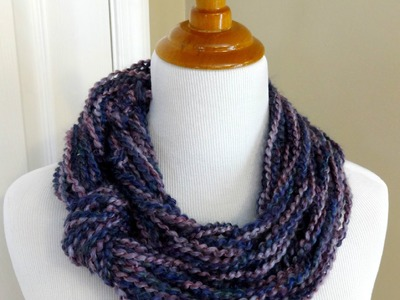 Episode 39: How to Make the Arm Knit Knotted Cowl