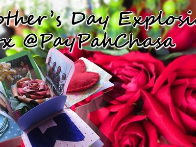 Explosion Box Crafts for Mother's Day