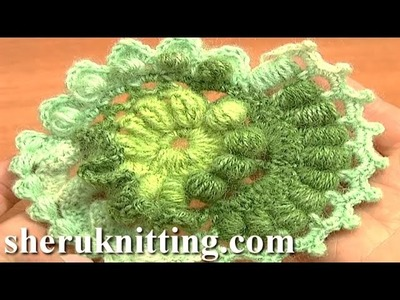 Freeform Crochet Scrumble Pattern Tutorial 3 Part 1 of 2 Free Form Crochet Designs
