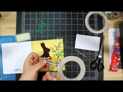 Happy Easter Card Tutorial - scrapbooking by Hoinka Crafts