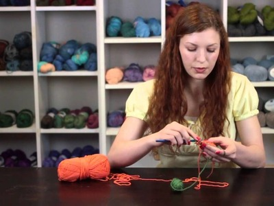 How to Add Yarn to the Afghan Stitch in Crochet : Crochet Stitch Tips