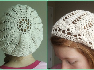 How to Crochet a Cotton Beret - Part 2