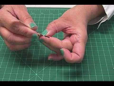 How to: Egg Shaped Paper Beads, Part 1, by JaniceMae