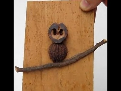 How to make a Simple Owl Craft