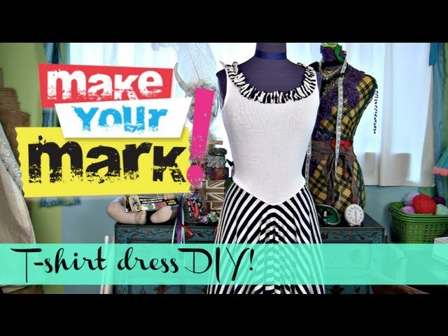 How to: Make a Summer T-Shirt Dress