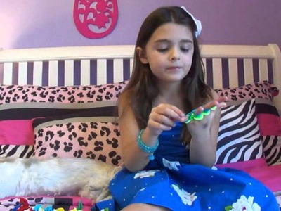 How to make craft loop bracelets