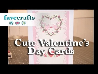 How to Make Cute Valentines Day Cards