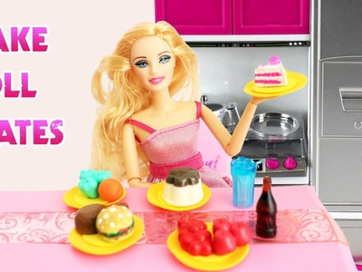 How to Make Easy Doll Plates Tutorial - Easy Doll Crafts - SimpleKidsCrafts
