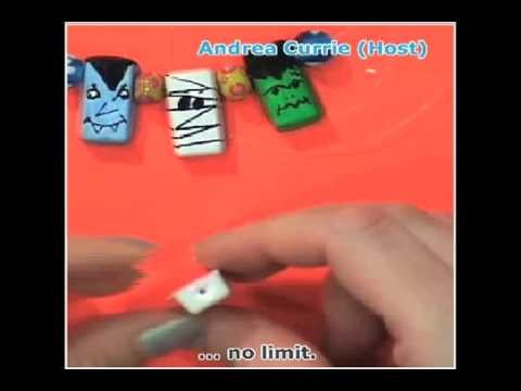 How To Make Fun Halloween or Holiday charms (Andrea Currie Crafts)