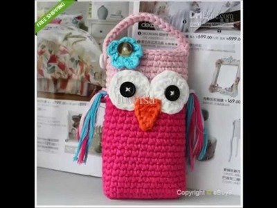 How to make money by investing $3.00 on yarn by Crochet cell phone covers