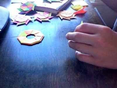 How To Make: Transforming Ninja Star From Sticky Notes!